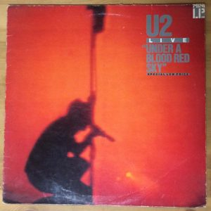 U2 – Under a Blood Red Sky (Live) (Plak – 2. El)