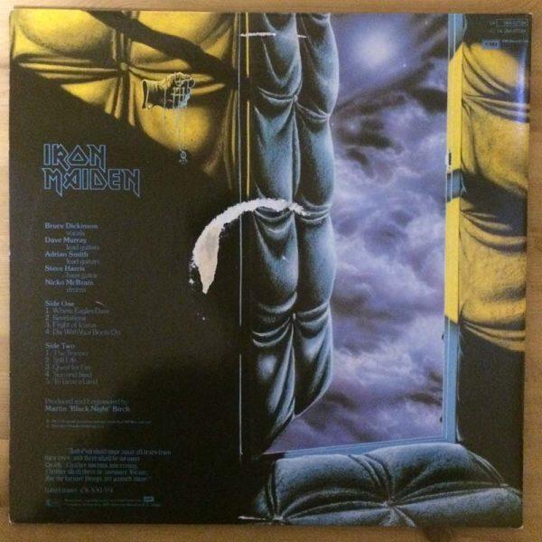 Iron Maiden – Piece of Mind (Plak – 2. El)