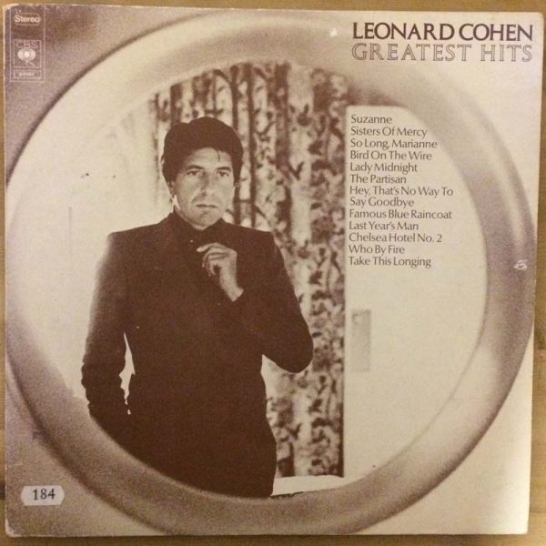 Leonard Cohen – Greatest Hits (Plak – 2. El)