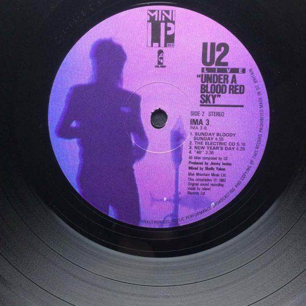 U2 – Under a Blood Red Sky (Live) (Plak – 2. El)