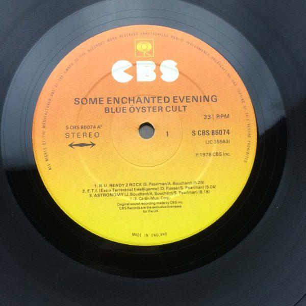 Blue Öyster Cult – Some Enchanted Evening (Plak – 2. El)