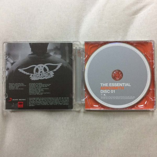Aerosmith ‎- The Essential Aerosmith (2 CD – 2. El)