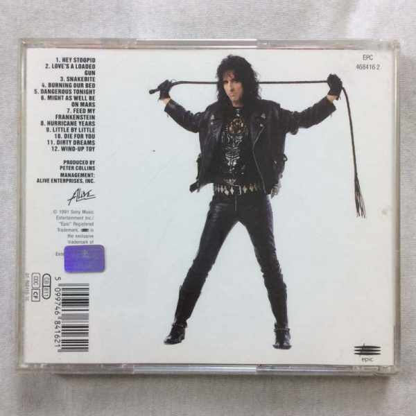 Alice Cooper – Hey Stoopid (CD – 2. El)