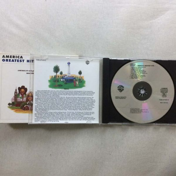 America – History – America's Greatest Hits (CD – 2. El)