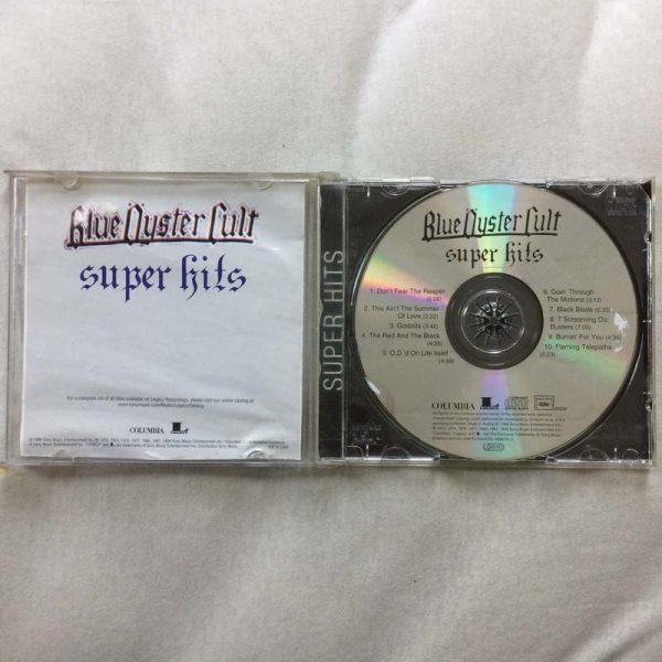Blue Öyster Cult – Super Hits (CD – 2. El)