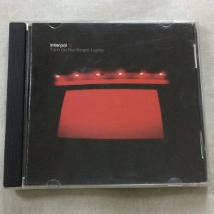 Interpol ‎- Turn on the Bright Lights (CD – 2. El)