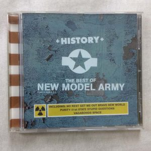 New Model Army ‎– History (The Best Of New Model Army) (CD – 2. El)
