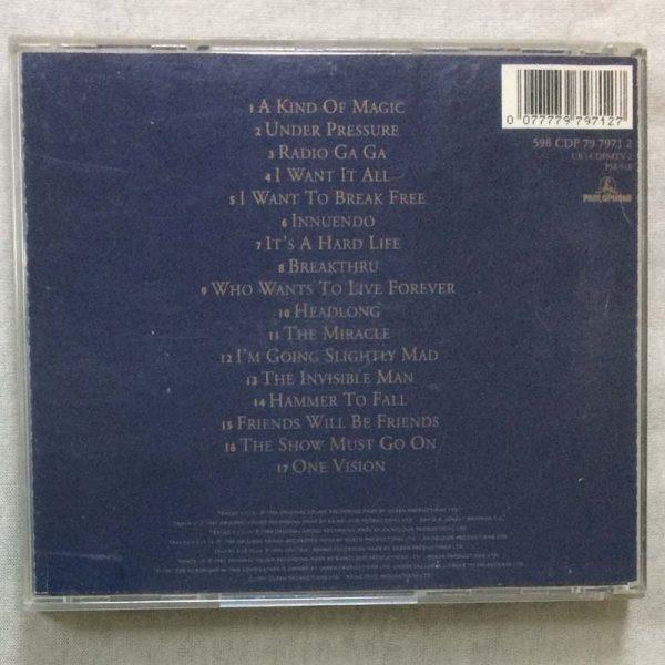 Queen – Greatest Hits II (CD – 2. El)