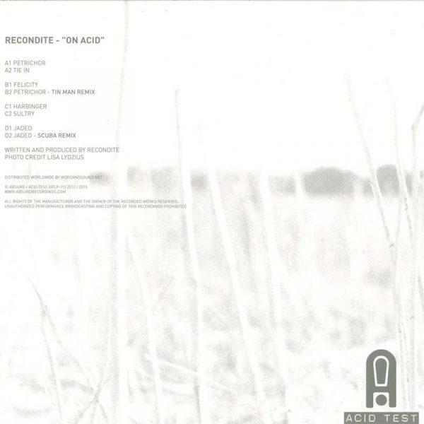 Recondite – On Acid (Plak)