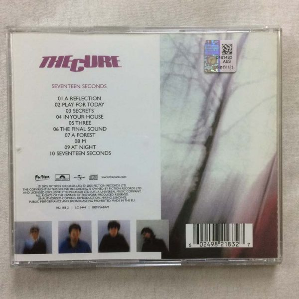 The Cure – Seventeen Seconds (CD – 2. El)