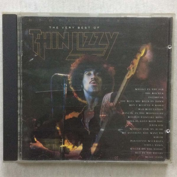 Thin Lizzy – Dedication: The Very Best Of Thin Lizzy (CD – 2. El)
