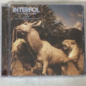 Interpol – Our Love To Admire (CD – 2. El)