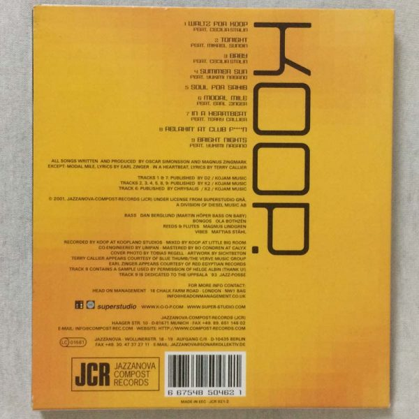 Koop. – Waltz for Koop. (CD – 2. El)